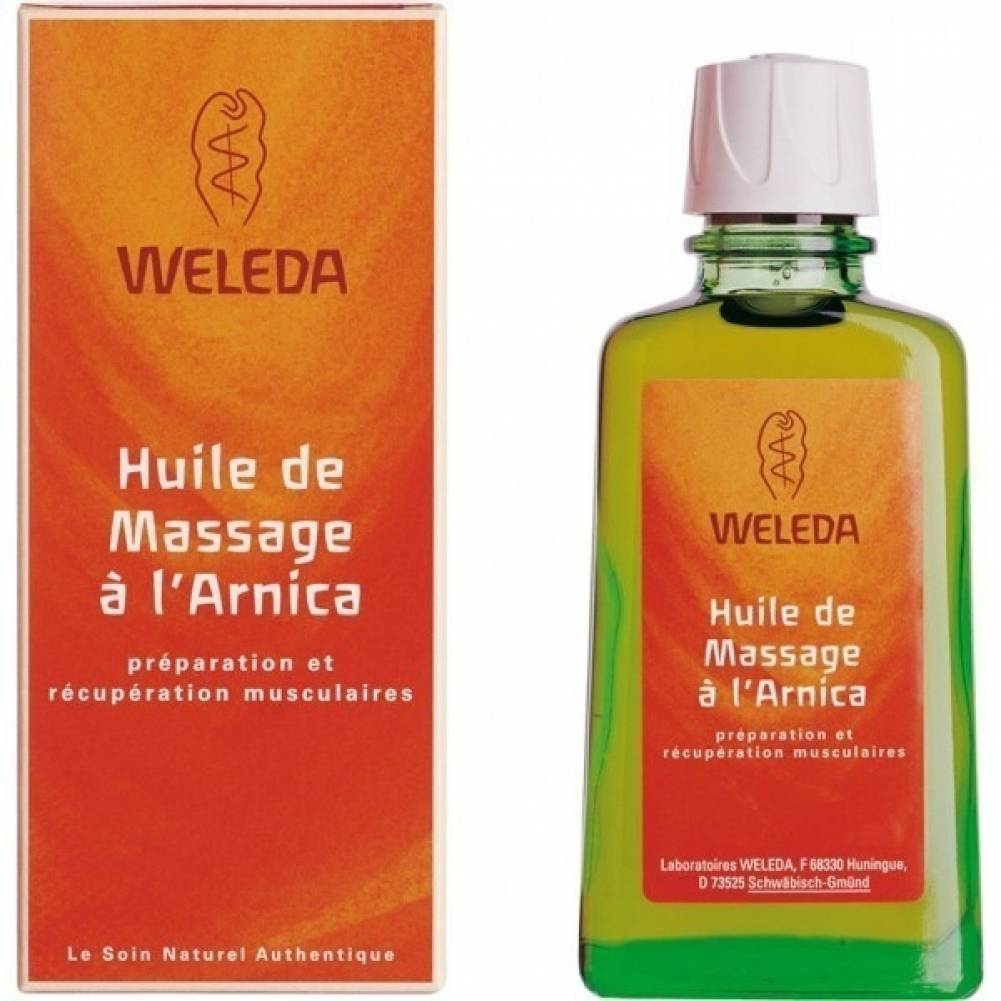 Weleda Huile à l'arnica Weleda : Conditionnement - 100 mL