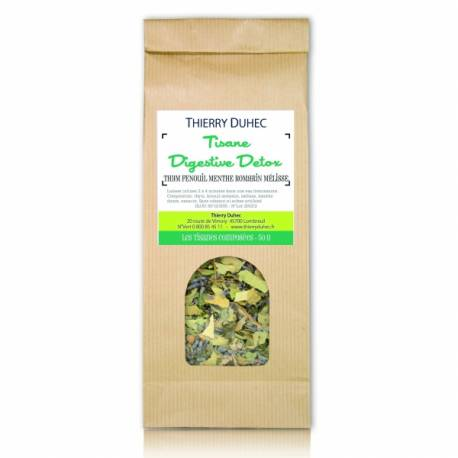 Thierry duhec Tisane Digestive Detox 50 g : Conditionnement - 50 g