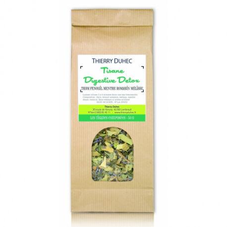 Thierry duhec Tisane Digestive Detox 50 g : Conditionnement - 50 g
