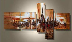 EVA JEKINS Tableaux design Abstrait City