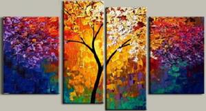 EVA JEKINS Tableau moderne arbre de vie