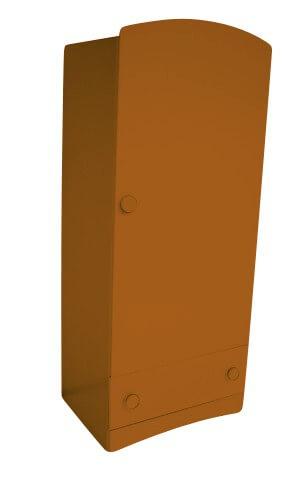 ABC MEUBLES Armoire enfant 1 porte + 1 tiroir Isla - / - Chocolat