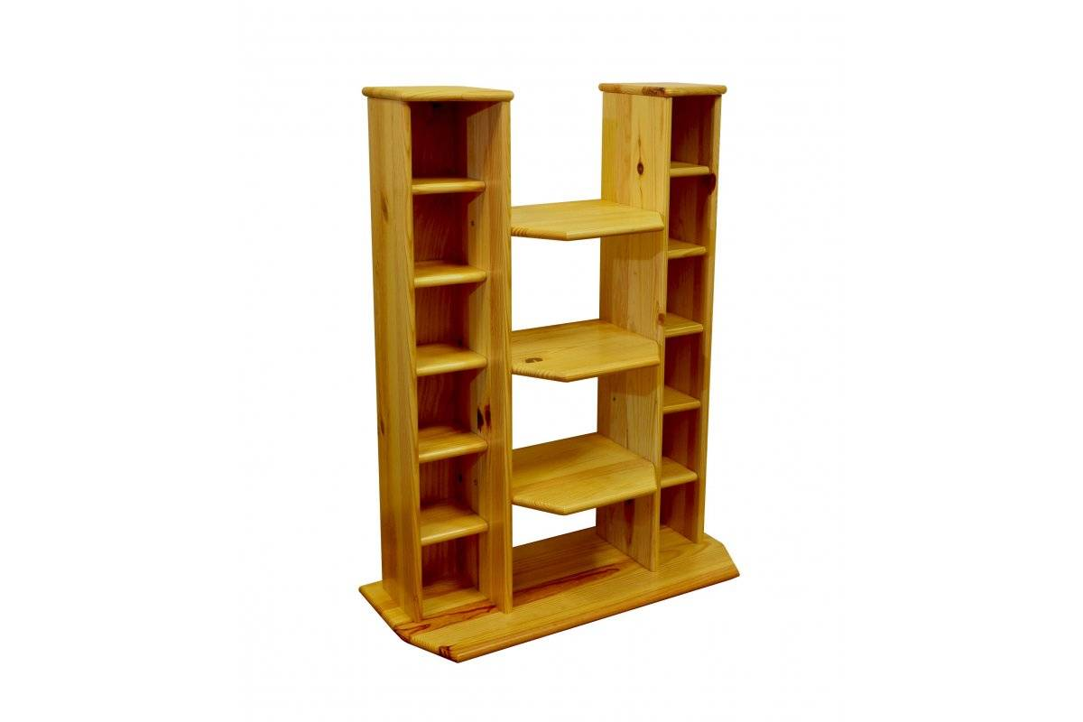 Abc meubles - meuble hifi/vidéo bois miel