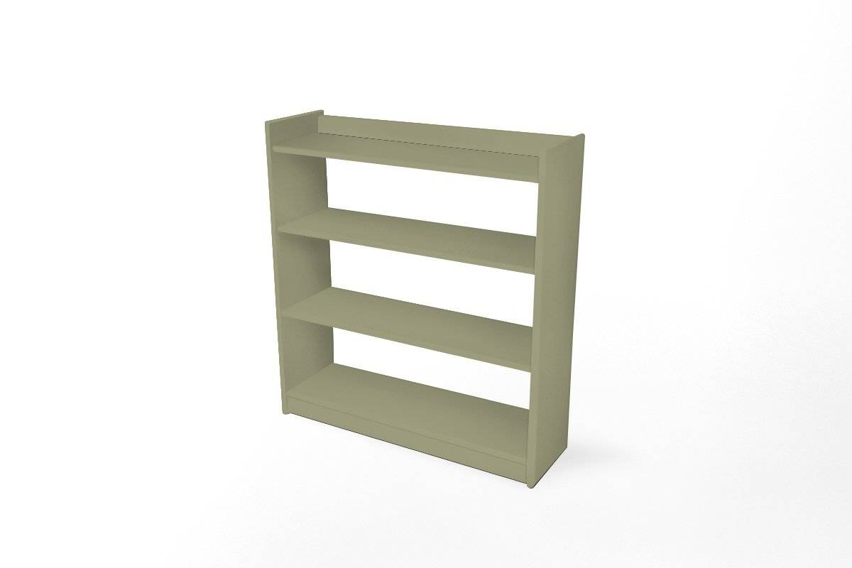 Abc meubles - etagère 92 x 99 omega 4 tablettes taupe