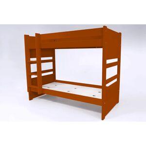 Abc meubles - lit superposé duo transformable en 2 lits chocolat 90x190 - Publicité