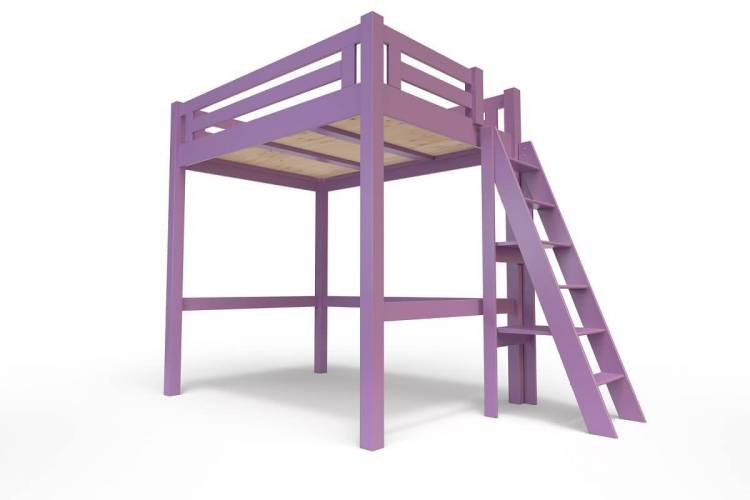Abc meubles - lit mezzanine alpa...