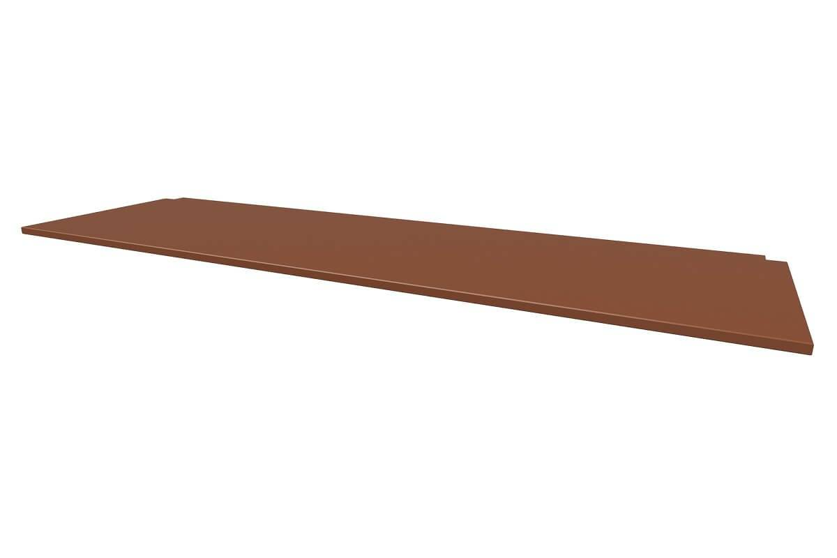 ABC MEUBLES Bureau tablette pour lit mezzanine - Longueur 200 - Chocolat