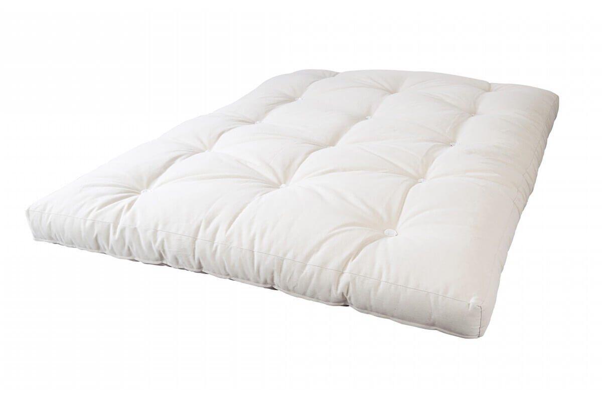 Abc meubles - matelas futon latex 2 places 140x190