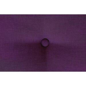 ABC MEUBLES Banquette cube 200 cm + futon + coussins - / - Prune - Publicité