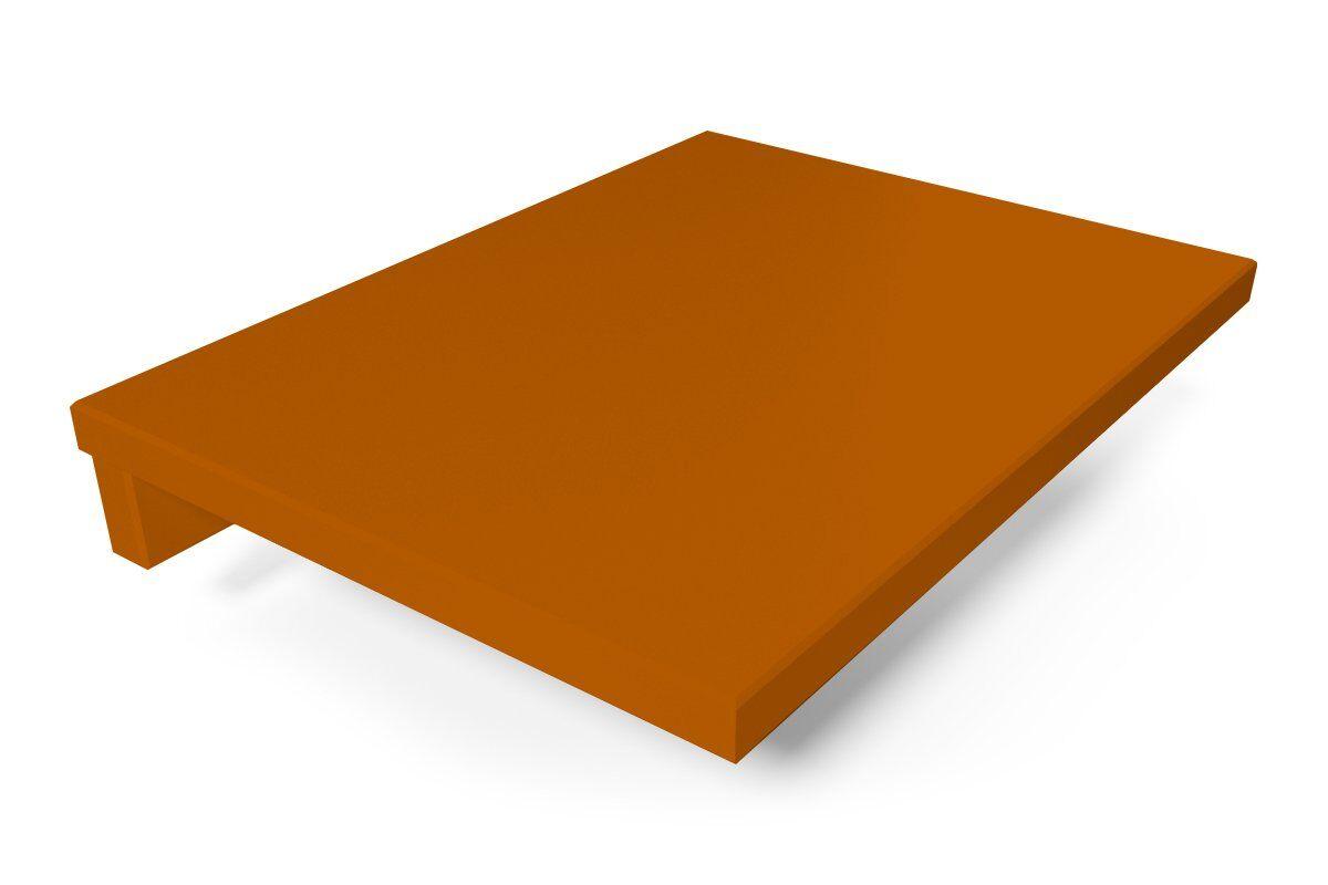 ABC MEUBLES Tablette de chevet suspendue bois - / - Chocolat