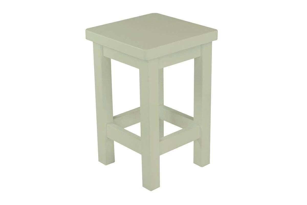 Abc meubles - tabouret droit bois made in france moka