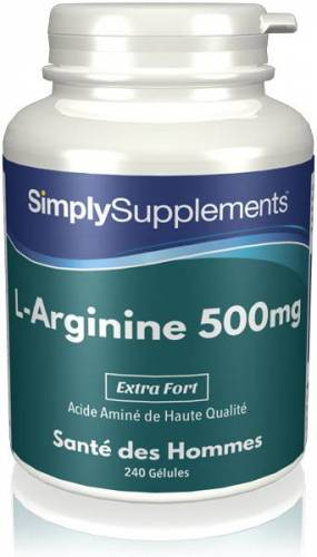 Simply Supplements L-Arginine 50...