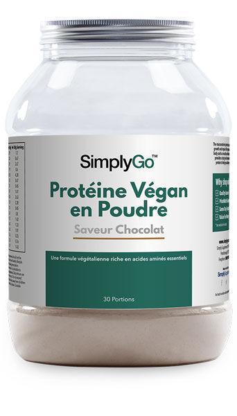 Simply Supplements Protéine Végan en Poudre - 900 g - Protéine en Poudre