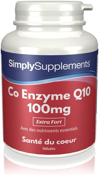 Simply Supplements Coenzyme Q10 100mg - 180 Gélules
