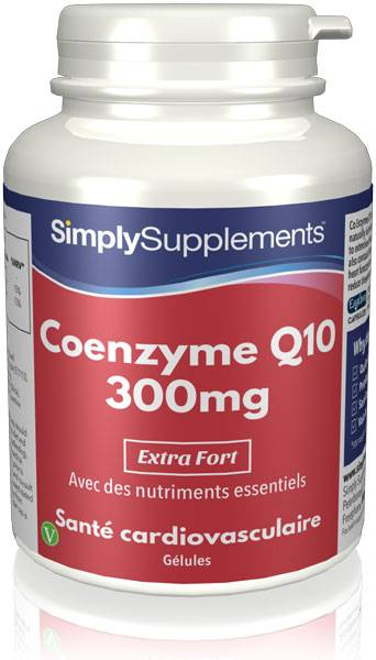 Simply Supplements Coenzyme Q10 300mg - 120 Gélules