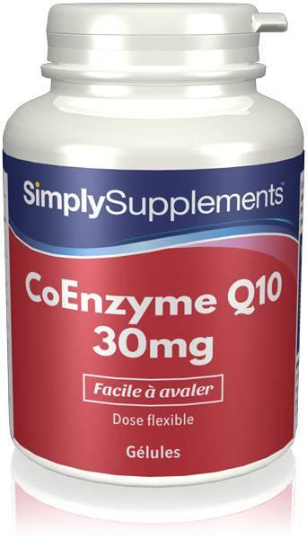 Simply Supplements CoEnzyme Q10 30mg - 360 Gélules