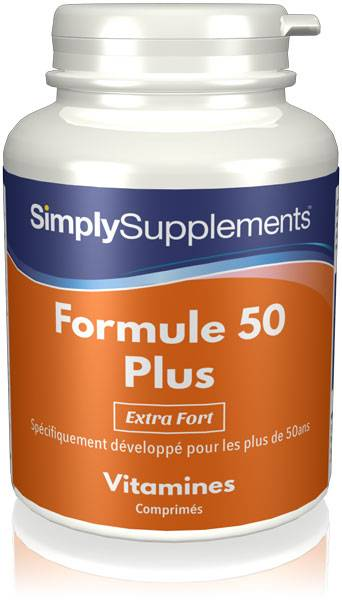 Simply Supplements Formule 50 Plus   Extra Fort - 360 Comprimés