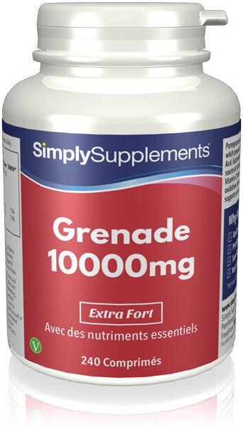 Simply Supplements Grenade 10000mg - 240 Comprimés