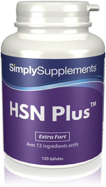 Simply Supplements HSN Plus Cheveux, Peau, Ongles - 120 Gélules