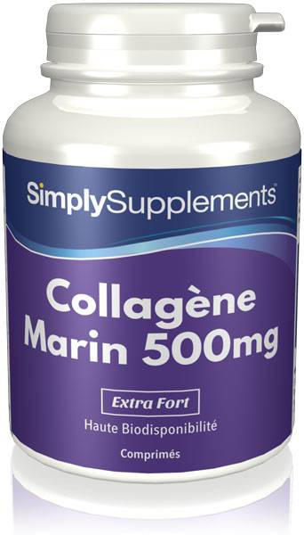 Simply Supplements Collagène marin 500mg - 360 Comprimés
