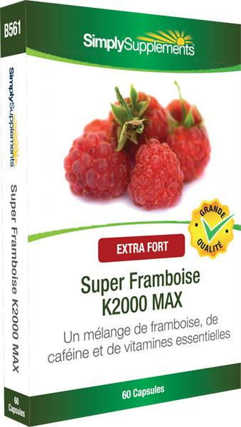 Simply Supplements Super Framboise K2000 MAX - 60 Gélules