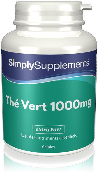 Simply Supplements Thé Vert 1000mg - 120 Gélules
