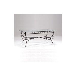 LE QUAI DES AFFAIRES Table IBIZA / Noir - Publicité