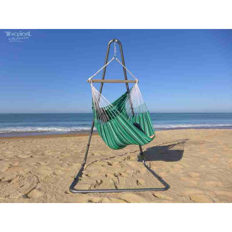 Tropical Influences Hamac chaise avec support Soledad Pyrenées