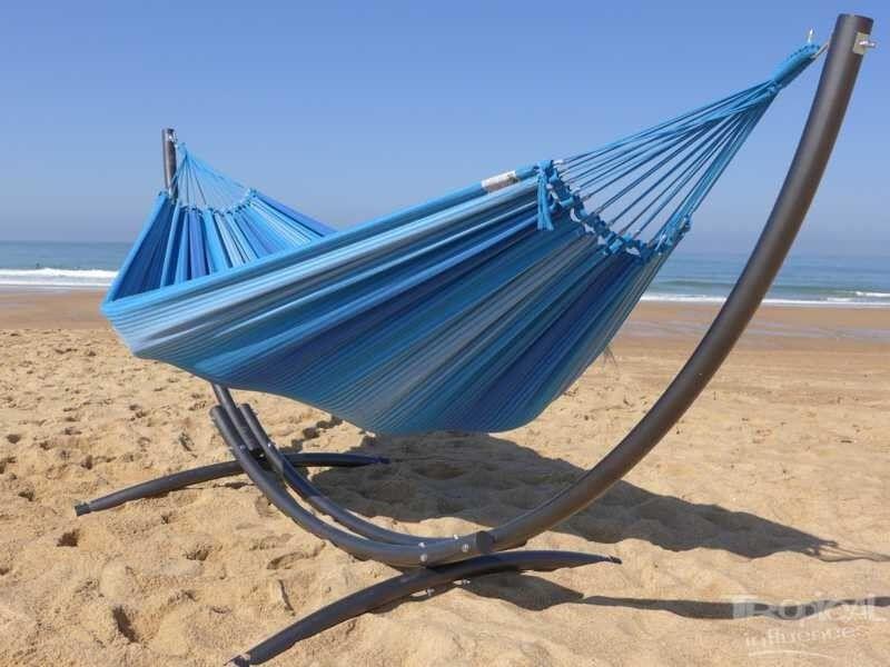 Tropical Influences Hamac avec support Azteka XL 3 Azules