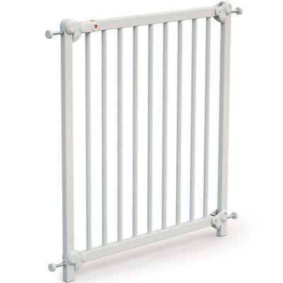 Barrière de sécurité en bois de hêtre Essentiel blanc
