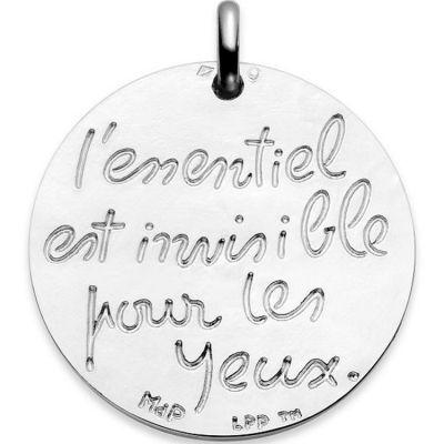 Médaille de berceau Le Petit Prince (argent 925°)