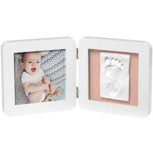 Cadre photo empreinte My Baby Touch simple blanc - Publicité