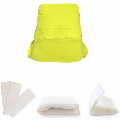 Kit couche en microfibre Green Banana 4 pièces (Taille L)