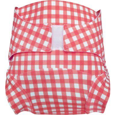 Culotte couche lavable T.MAC Vichy gariguette (Taille S)