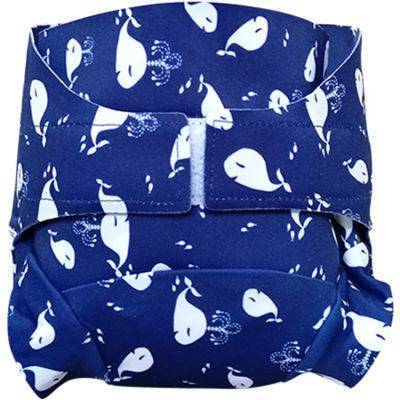 Culotte couche lavable classique TE2 Chant des baleines (Taille S)