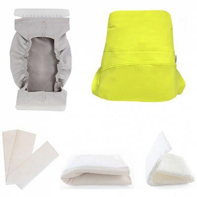 Kit couche TMAC en microfibre Green Banana 5 pièces (Taille XL)