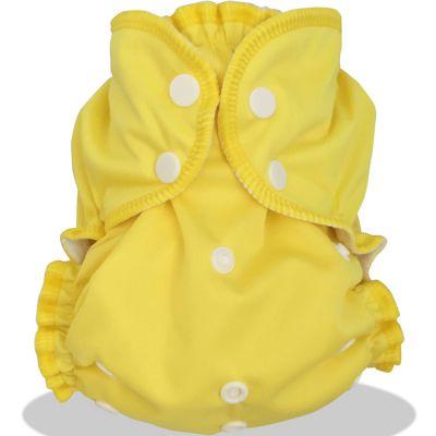 Couche lavable TE1 Tout En 1 Zeste de citron (Taille unique : 2,8 à 16 kg)