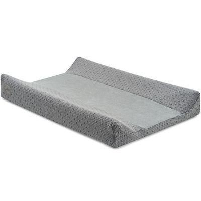 Housse de matelas à langer Bliss knit storm grey gris (50 x 70 cm)