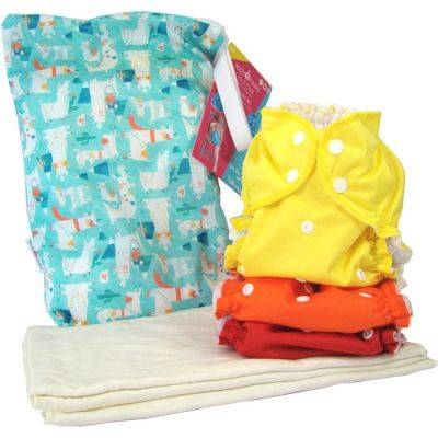 Pack découverte couches lavables TE2 (2,8-16 kg)