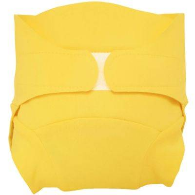 Culotte couche lavable classique TE2 jaune (Taille M)