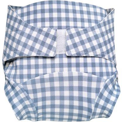 Culotte couche lavable T.MAC Vichy myrtille (Taille S)