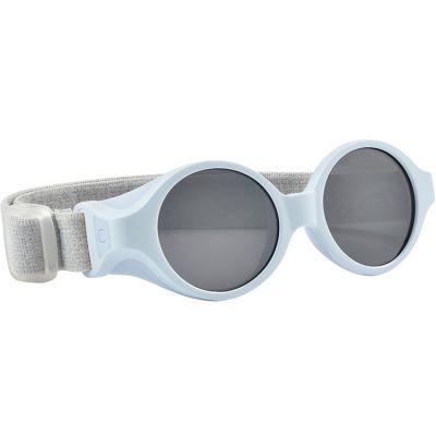 Lunettes de soleil bandeau bleu perle (0-9 mois)