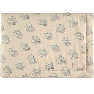 Mini couverture bébé Blue Gatsby Cream (70 x 70 cm)