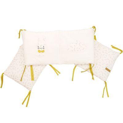Tour de lit Leafy Bunny (pour lis 60 x 120 et 70 x 140 cm)