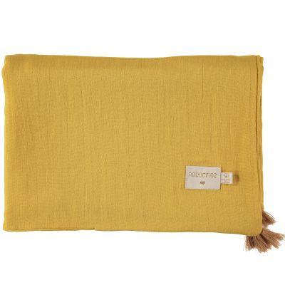 Couverture d'été bébé Farniente yellow (70 x 100 cm)
