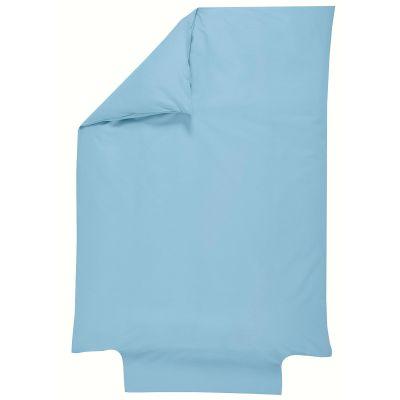 Housse de couette en coton bio bleu ciel (100 x 140 cm)