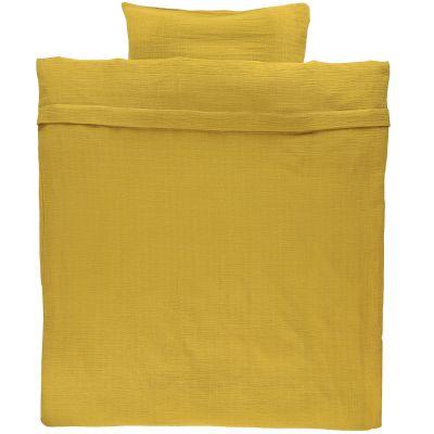 Housse de couette Bliss Mustard (100 x 140 cm)