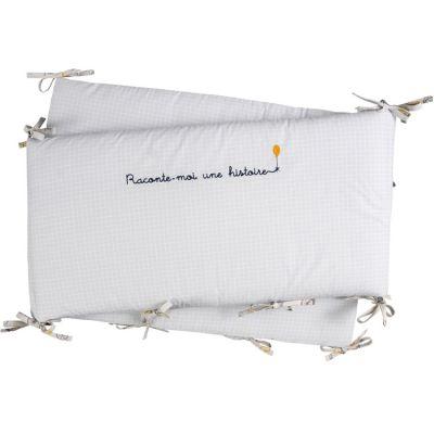 Tour de lit en coton bio Lucien (pour lits 60 x 120 et 70 x 140 cm)
