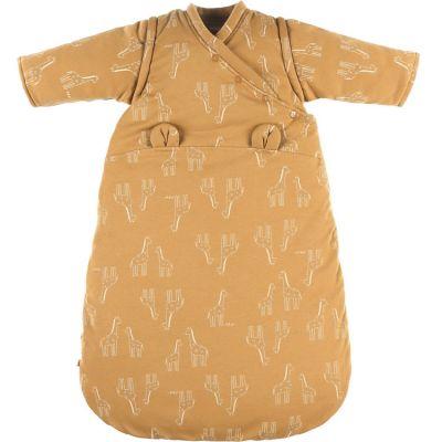 BIO + Gigoteuse en jersey bio chaude Mix & Match ocre TOG 1-2 (70 cm)