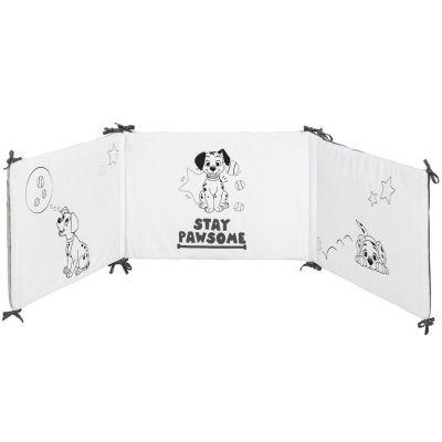 Tour de lit Les 101 Dalmatiens (pour lits 60 x 120 ou 70 x 140 cm)